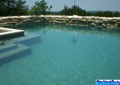 custom pool builder portfolio austin texas - new wave pools