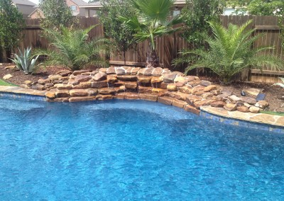 custom free form pool builder portfolio austin texas