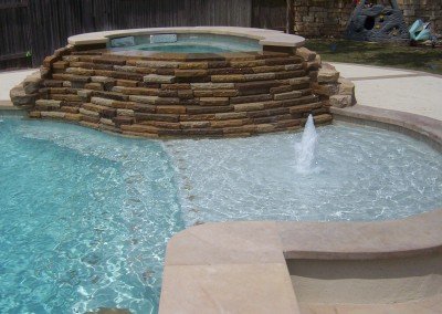 custom pool builder portfolio austin texas