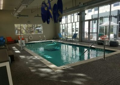 Aloft Hotel - Commercial Pool built by New Wave Pools Austin