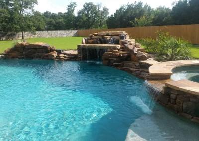 residential free form pool builder austin texas