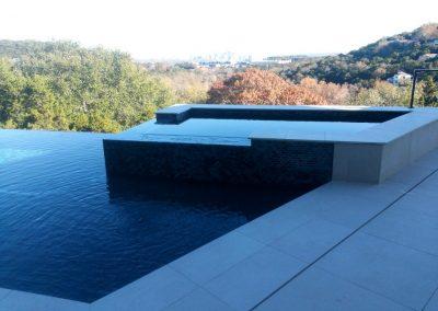custom swimming pool by New Wave Pools Austin