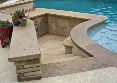 Pool Bar - new wave pools austin pool builder - photo gallery