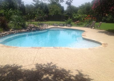 freeform pool - austin texas pool builder