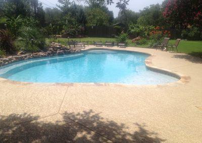 freeform pool - austin texas pool builder