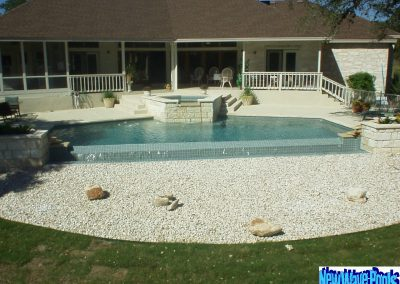 Geometric Pool Design - Austin Pool Builder - New Wave Pools