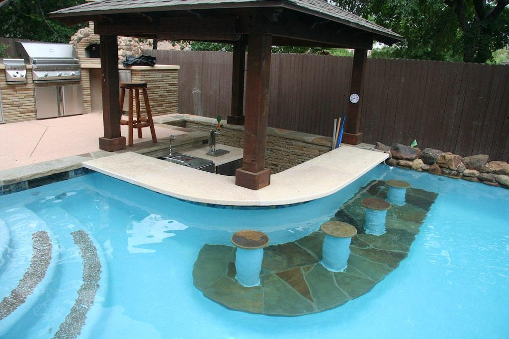 Fire Pits Outdoor Kitchens Pergolas New Wave Pools Austin