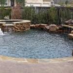 custom free form pool builder portfolio austin texas