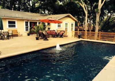 residential custom pool builder - geometric pool design