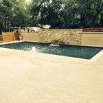 residential custom pool builder - geometric pool design