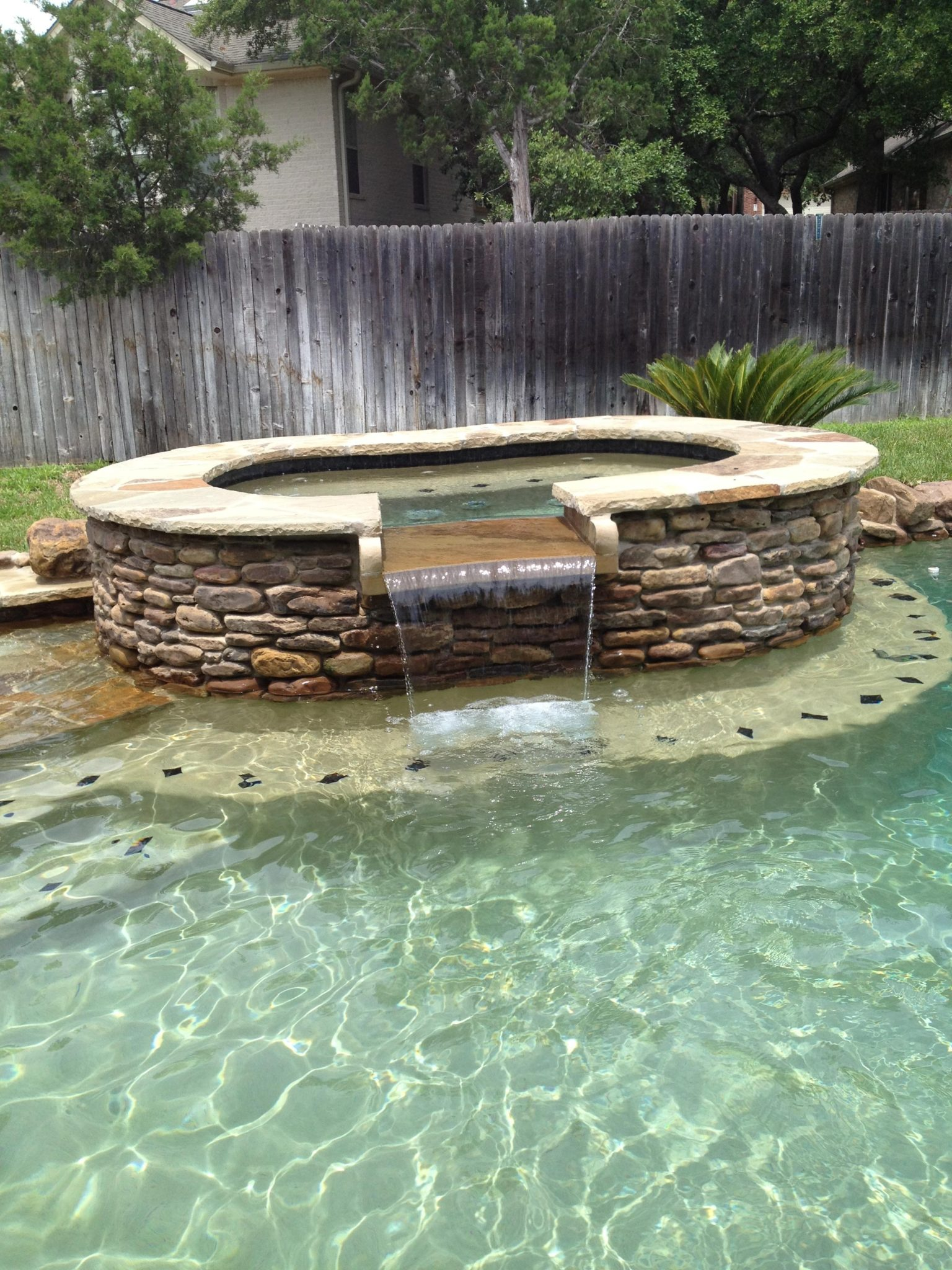 residential backyard spas new wave pools