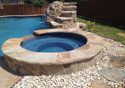 Custom Backyard Spas New Wave Pools Austin Portfolio